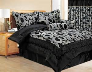 clearance bed in a bag sets closeouts on comforters clearance 7pc bed in a bag saturn black comforter set
