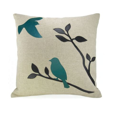 aqua bird design for side turquoise bird throw pillow black and teal birds in