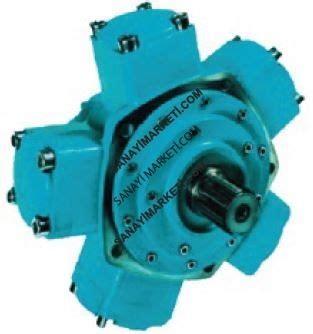 Lu Hid Provision Motor iamd 5000 h7 tek deplasmanli radyal p箘stonlu motor