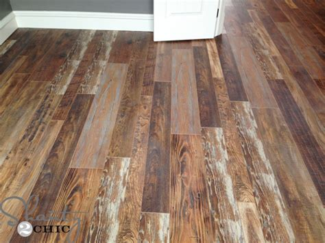 laminate flooring wood look laminate flooring reclaimed looking laminate house update shanty 2 chic