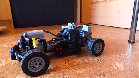 Schnellstes Lego Auto by Lego Technic Rc Rallye Car Chassis Moc Youtube
