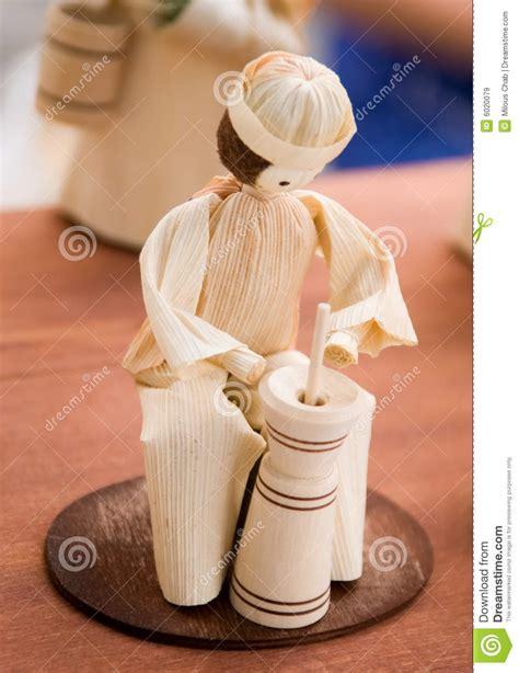 corn husk dolls price corn husk doll royalty free stock images image 6020079
