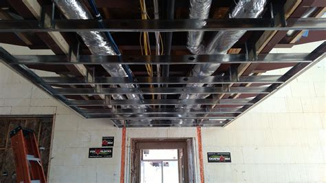 Ceiling Studs by Milestone Homes 187 Kitch Ceiling Steel Framing