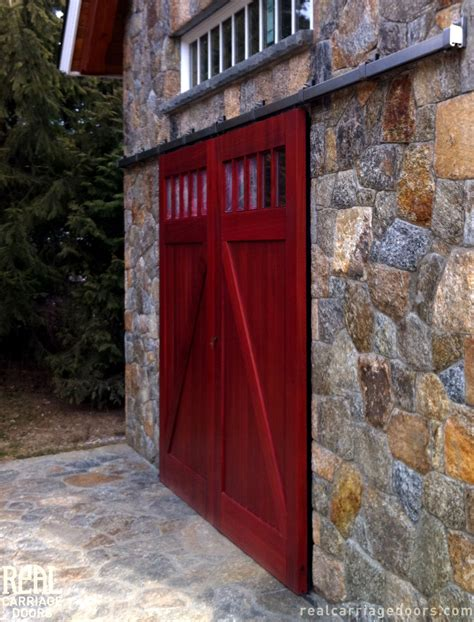 Real Barn Doors You Can T Out Do Our Outdoor Hardware Real Sliding Hardware