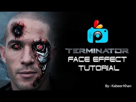 picsart tutorial face picsart tutorial how to make a terminator face effect