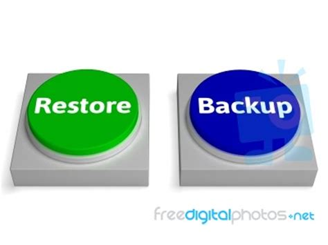 how to backup and restore all data on samsung galaxy s3 backup and restore buttons show data archiving stock image