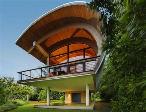 house beam design organic guest house with curved glulam pine beams casey key guest house home