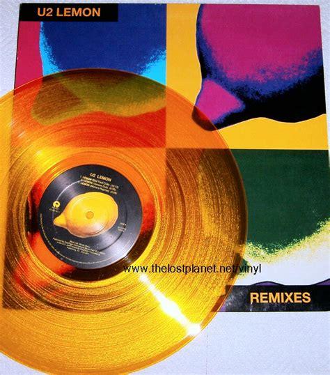 lemon u2 lost planet cool vinyl page