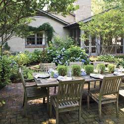 backyard outdoor living outdoor dining room ideas southern living