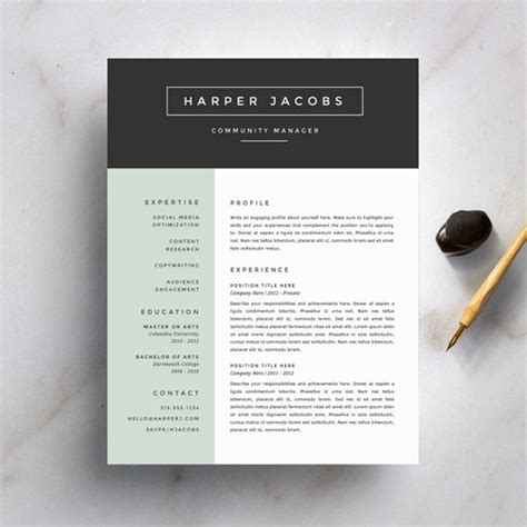 8 creative and appropriate resume 8 creative and appropriate resume templates for the non