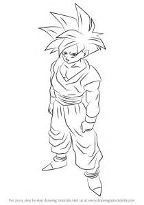 z drawing learn how to draw gohan from z