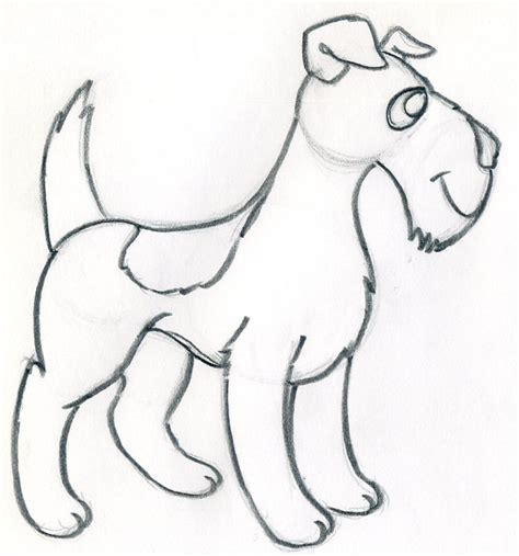 easy to dogs how to draw an easy