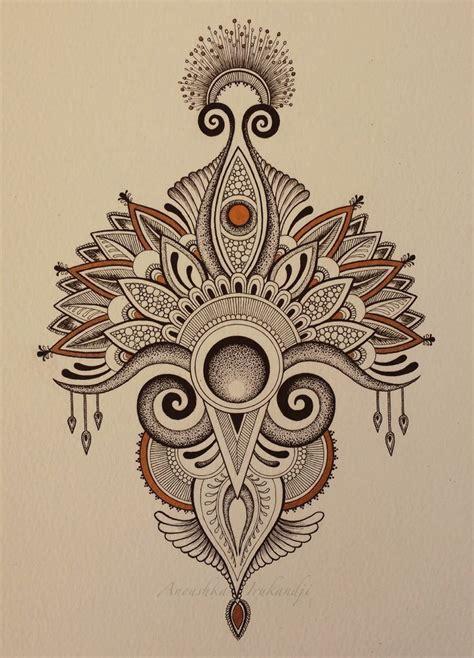 mandala zen tattoo anoushka irukandji tumblr art pinterest mandalas