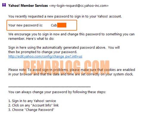 email yahoo hilang cara reset password email yahoo tanpa no hp dan email