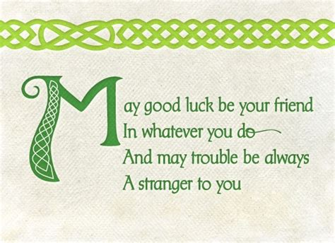 irish irish blessing and good luck on pinterest
