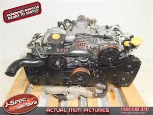 Subaru Dohc Forester Legacy Ej25 Engine S J Spec