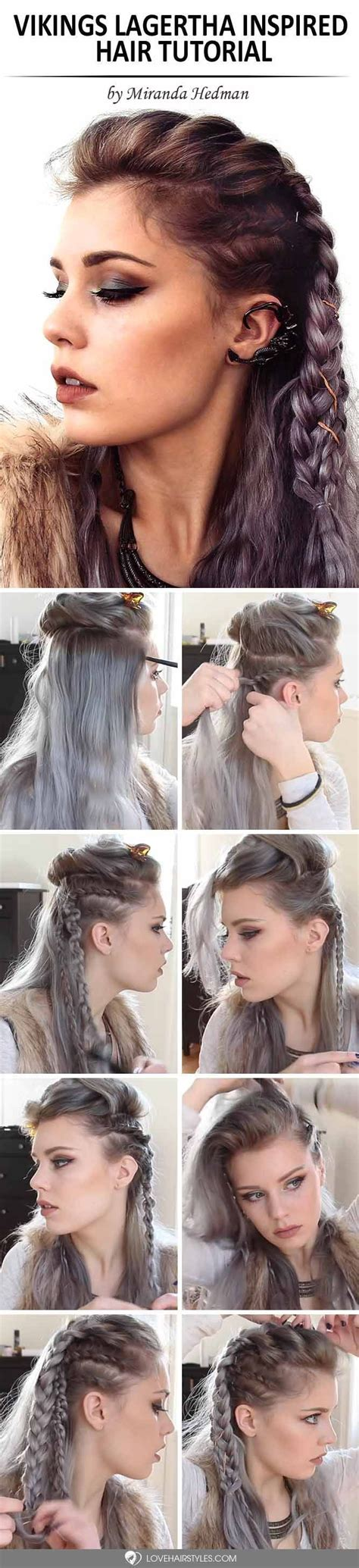 lagertha hair tutorial 2565 best braided hairstyles images on pinterest