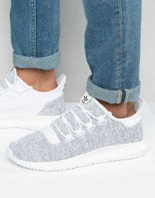 Sepatu Sneakers Adidas Originals Tubular Shadow White 1 adidas originals adidas originals tubular shadow knit