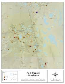 sinkhole activity map florida sinkholes of polk county florida 2008