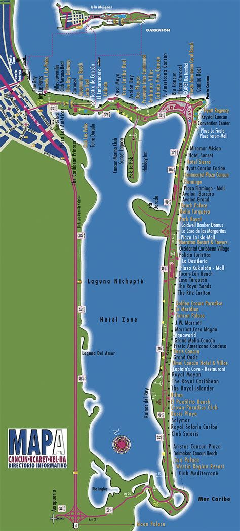 map of cancun cancun mexico travel last minute inc the canadian specialists in last minute travel