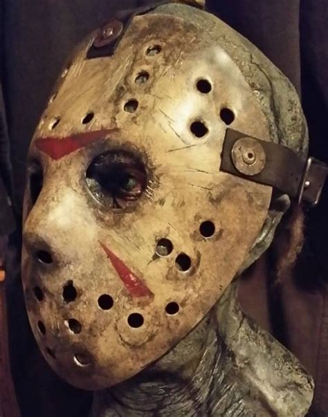 How To Make A Jason Mask Out Of Paper - get the jason look mask musings with richard gray