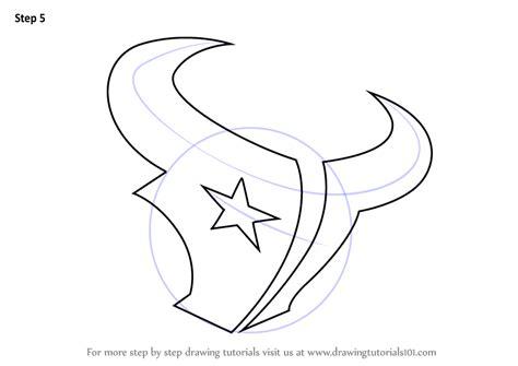 draw logo learn how to draw houston texans logo nfl step by step