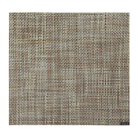 square placemats for table buy chilewich basketweave square placemat willow amara