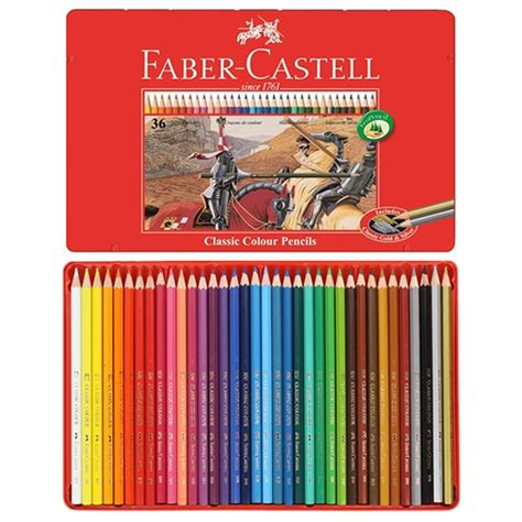 Faber Castell Classic Colour Pencils 36 Pcs classic colour pencils set of 36 faber castell learning collection from craftyarts co uk uk