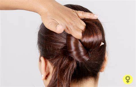 Hairstyles Buns Step By Step by Simple Juda Hairstyle Step By The Newest Hairstyles