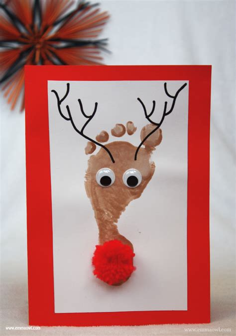 reindeer cards to make view topic card ideas baby led weaning