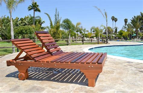 patio sol redwood patio lounger with lines stylish leg design
