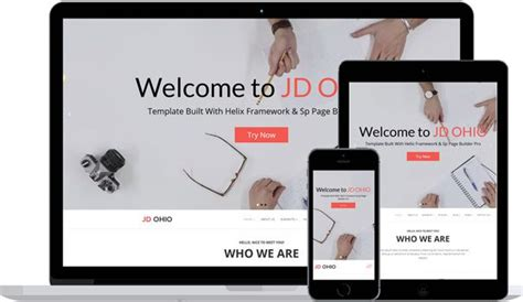 Premium Joomla 3 Templates by Review Jd Ohio Premium Joomla 3 7 Template All
