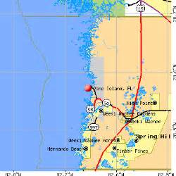 pine island florida fl 34607 profile population maps