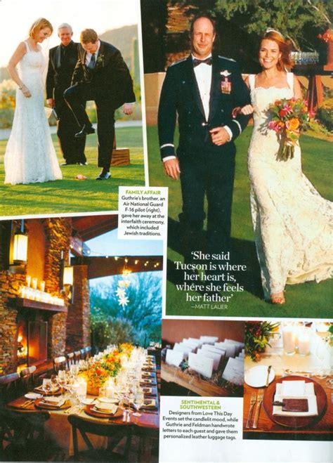 savannah guthrie wedding savannah and mike dove mountain arizona love this day
