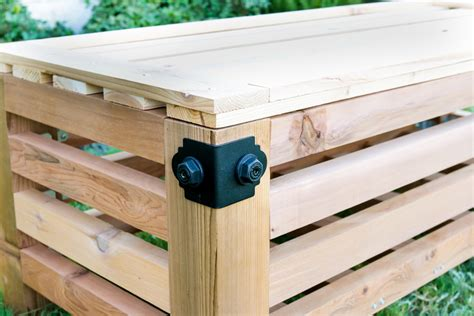 outdoor ottoman with storage diy outdoor storage ottoman
