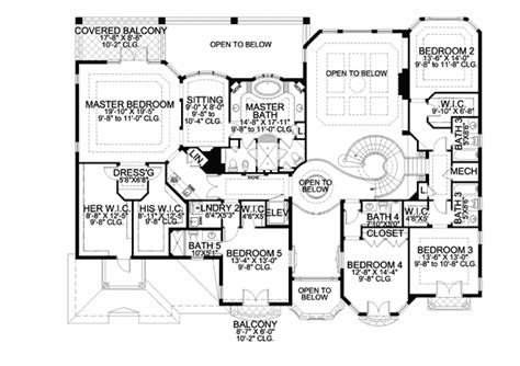 two story mediterranean house plans two story luxury mediterranean home plan 32066aa architectural designs house plans