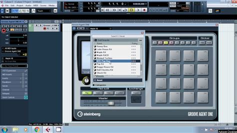 youtube tutorial cubase 5 cubase 5 tutorial how to open groove agent one youtube