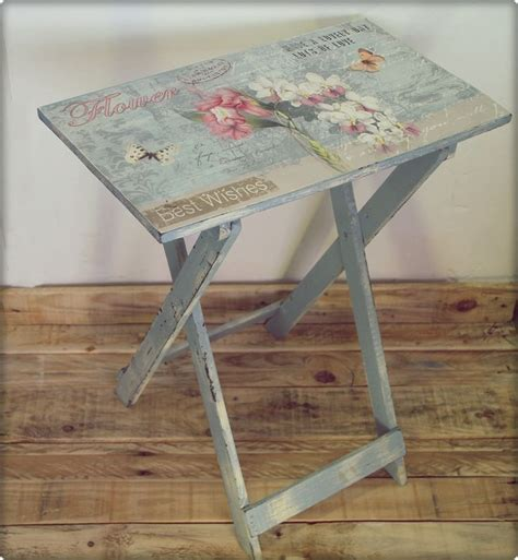 Decoupage Wood Table - decoupage furniture from the discussion on