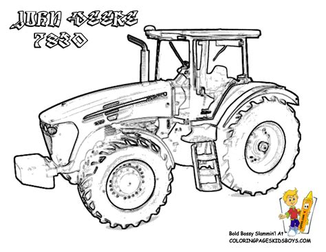 free coloring pages of john deere malvorlagen