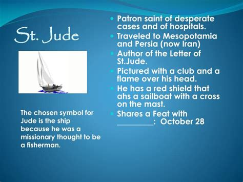 st jude home taxes ppt the twelve apostles of jesus powerpoint