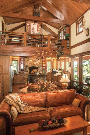 open floor plans with loft vaulted ceiling open floor many cabin style homes have open floor plans and vaulted