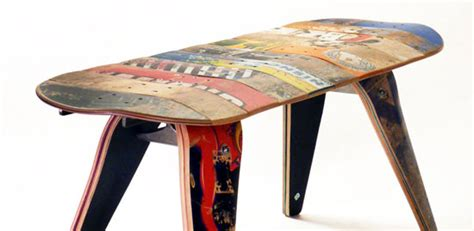 how to make a skateboard bench recycle your old skate to create the eco friendly skateboard bench green design blog