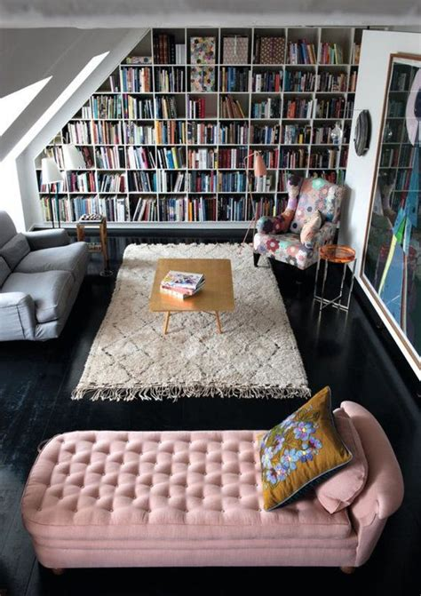 Home Library Living Room Design How To Decorate And Furnish A Small Study Room