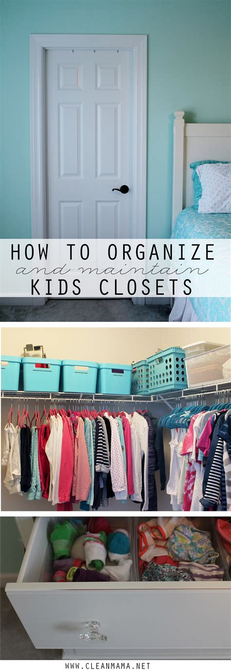 How To Organize Toddler Closet by How To Organize And Maintain Closets Clean