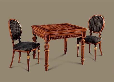 tavolo da gioco carte tavolo da gioco carte scacchi in stile classico