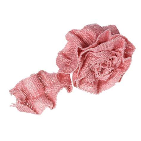 Pita Satin 2 Cm 3 4 Inch aliexpress buy jute burlap fabric satin ribbon pink 6cm 2 3 8 quot 1 roll approx 1 m roll