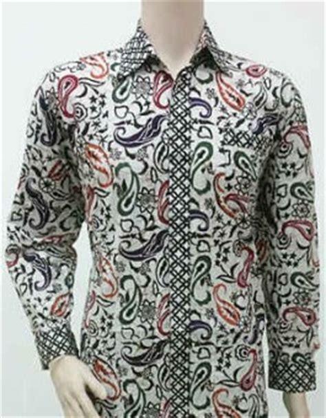 Hem Kemeja Batik Pekalongan Lengan Panjang Cap Pria 1 20 model baju batik pria lengan panjang modern terbaru