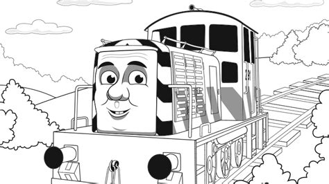 salty train coloring page play thomas friends games for children thomas friends