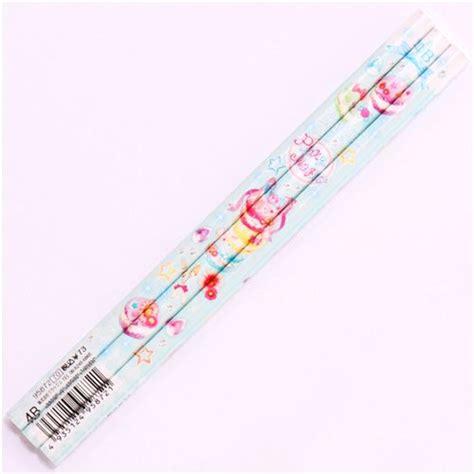 Squishy Crayon Pencil crayon 224 papier kawaii bleu p 226 le avec sucreries et