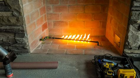 Gas Starter For Fireplace by Design Features Cliff Maness Construction